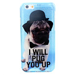 Puppy  Pattern Glitter TPU Cell Phone Soft Shell  For iPhone 6