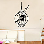Wall Stickers Wall Decals Style Cage Creative Personality PVC Wall Stickers