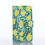 Lemon Pattern PU Leather Full Body Case with Stand for Multiple LG G3/G3MINI/L90