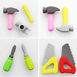 Tiny DIY Tools Detachable Rubber Eraser (Random Color)