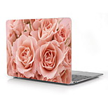 Bloom Rose Design Full-Body Protective Plastic Case for 12