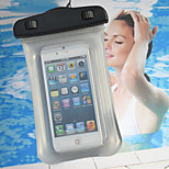 Diving and Surfing and Swimming Waterproof Bag for iPhone 5 5S 5C Underwater 20M Phone Case with Sling (Assorted Colors)