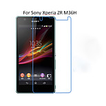 5PCS HD Clear Transparent Screen Protector Film For Sony Xperia ZR M36H