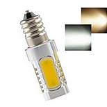 Lampadine a pannocchia 5LED COB Ding Yao E14 7 W 300-400 LM Bianco caldo/Luce fredda 1 pezzo AC 220-240 V