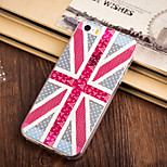 M Word Flag Pattern TPU Soft Case for iPhone 5/5S