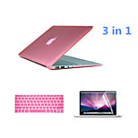 Crystal 3 in 1 Full Body Case with Keyboard Cover and HD Screen Protector for Macbook Retina 15.4