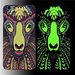 King Ⅱ Luminous Effect Fluorescent Glow In The Dark Back Hard Bak Cover Case for iPhone 5/5S/5G5G