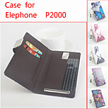 Flip Leather Magnetic Protective Case For Elephone P2000(Assorted Colors)