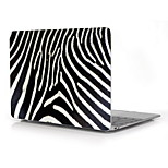 Zebra-Stripe Design Full-Body Protective Plastic Case for 12
