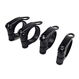 WEST BIKING® Black Aluminum Quick Release Seat Tube Clamp Bicycle Seat Tube Clip Seat Post Clamp 38.5MM