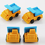 Cartoon Truck Dumpers Assemble Rubber Eraser (Random Color)
