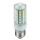 E27 3.5W 600lm 6500K 48-SMD 5730 LED Cool White Light Corn Lamp (220V~240V)