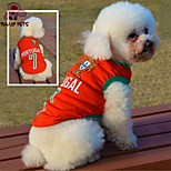 FUN OF PETS® Fashionable Portugal Football Team Pattern Vest for Pet Dogs(Assorted Sizes)