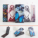 Protective PU Leather Magnetic Vertical Flip Case for Lenovo A5000(Assorted Colors)