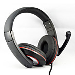 New 3.5mm Bass Stereo Music Headphones Headband Headset with Microphone for MP3 MP4 Media Player PC Tablet