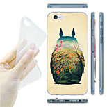 Totoro Pattern TPU Soft Back Case for iPhone 6