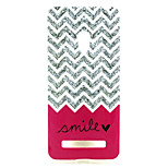 Waves  pattern TPU + IMD Soft Back Cover Case  For ASUS ZenFone 5