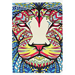 Lion Pattern PU Leather Full Body Case with Stand for Ipad Air 2 Ipad 6