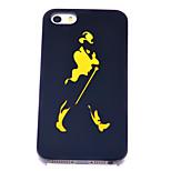 Gentleman Silhouette Muster unterstützen stark Argument für iPhone 4 / 4S