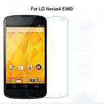 5PCS HD Clear Transparent Screen Protector Film for LG Nexus 4 E960