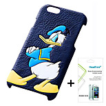 Disney Donald Duck Cover Case for Iphone5S/5G Free with Headfore Screen Protector for Iphone 5S/5G