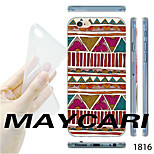 MAYCARI®National Pattern TPU Soft Transparent Back Case for iPhone 6