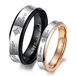 Titanium Steel Ring Couple Rings Party/Daily
