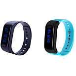 Bluetooth 4.0 Multifunctional Running Waterproof IP 67 Calories Intelligent Bracelt Pedometer