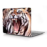 The Fierce Tiger Pattern Full-Body Protective Plastic Case for 12
