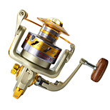 EF3000 Super Strong 5.5:1 Pesca Fishing Reel 10BB Bearings Ball Left/Right Collapsible Handlle Tackle