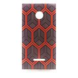 Diamond  Pattern TPU Phone Case for Nokia Microsoft Lumia 435