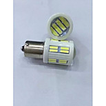 Luces Decorativas 1156 28 W 28 SMD 7020 1200 LM Blanco Fresco DC 24 V 2 piezas