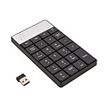 Numeric Keyboard 2.4G Wireless 23 Keys Pillow Keycaps Mini and Slim Save Energy Plug and Play