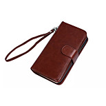 PU Leather Special Design Full Body Cases Detachable 9 Card Wallet For HTC M9(Assorted Color)