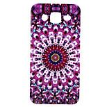 Purple Circle Printing Pattern TPU Material Phone Case for Samsung Galaxy J5 / Galaxy J7