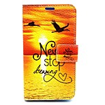 Sunrise Pattern PU Leather Full Body Case with Card Slot and Stand for Nokia Lumia 630