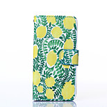 Lemon Pattern PU Leather Full Body Case with Stand for iPhone6