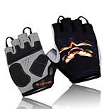Cycling Gloves Fingerless Sport Outdoors Shockproof Cycling Gloves Bike Bicycle Half Finger