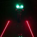 Fashion Cycling/Mountain Bike/Road Bike/Recreational Cycling Mounts & Holders Plastic  LED Light Red/Blue/Green Light