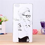 Handsome Boy Pattern TPU Case for ZTE Nubia Z9 Mini