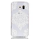 üreges virágmintás pc kemény tok Samsung Galaxy S6