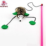FUN OF PETS® Lovely Long Legs Mouse Shaped Squeaking Playing Stick for Pet Cats