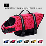 Oxford Cloth Wave Point Life Jacket for Dogs S
