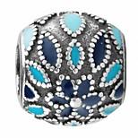 Sensation silver beads for bracelet/necklace
