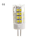 E14/G9/G4 4.5 W 51 SMD 2835 320-350 LM Warm White/Cool White Decorative Corn Bulbs AC 220-240 V
