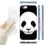 Panda Pattern TPU Soft Back Case for iPhone 6/6S