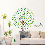 Wall Stickers Wall Decals Style Happy Tree PVC Wall Stickers