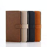 5 Inch Crazy Ma Pattern Luxury Genuine Leather Wallet Case for Blackberry Leap(Assorted Colors)