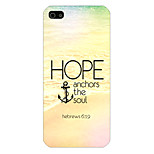 English Pattern Phone Back Case Cover for iPhone5C