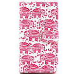 Small Pink Elephant Pattern PU Leather Painted Phone Case For Sony Xperia M2